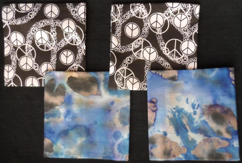 Coasters/Trivets - Peace & Tie-Dye Blue