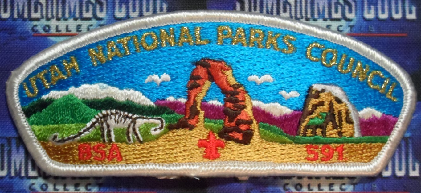 Council Patch :  Utah National Parks Council Utah