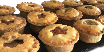 Four Mixed and Matched Pies - Unbaked Frozen (Local only)