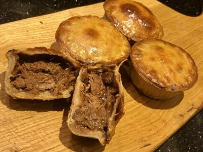 Speciality Steak Pies - Unbaked Frozen Dozen