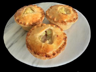 Gourmet Pork and Apple Pie - Unbaked Frozen Dozen