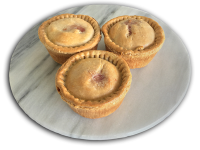 Jelly-less Pork Pies - Unbaked Frozen Dozen
