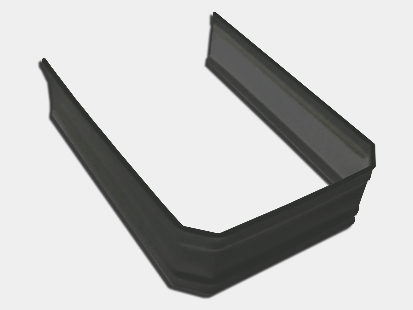 Corrugated Square Steel Downspout Strap
