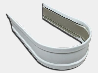 Plain Round Aluminum Downspout Strap