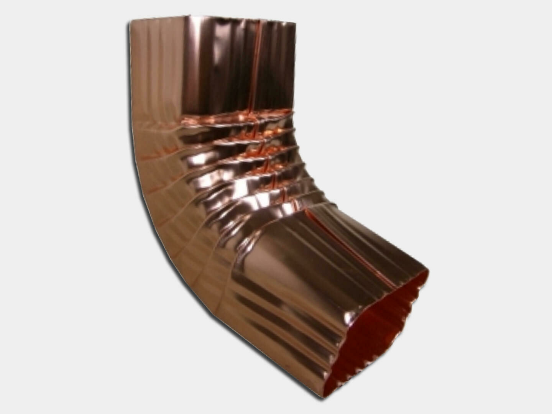 Square Corrugated Copper Elbow (A) Style