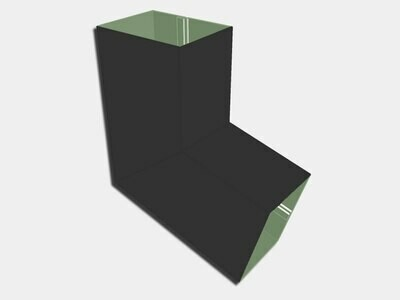Plain Square Steel Elbow (B) Style