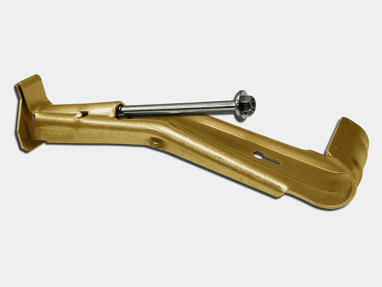 K-Style Brass Gutter Hanger With Screw