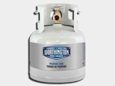 1 Gallon Propane Tank 4.25 lbs