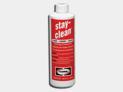 Stay-Clean Liquid Soldering Flux