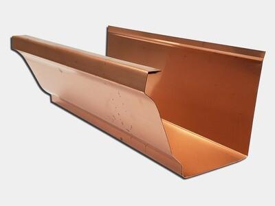 16 oz. Copper K-Style Gutter /