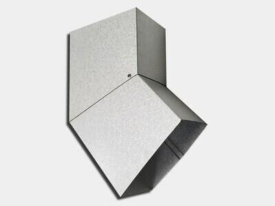 Plain Square Galvalume Elbow (B) Style