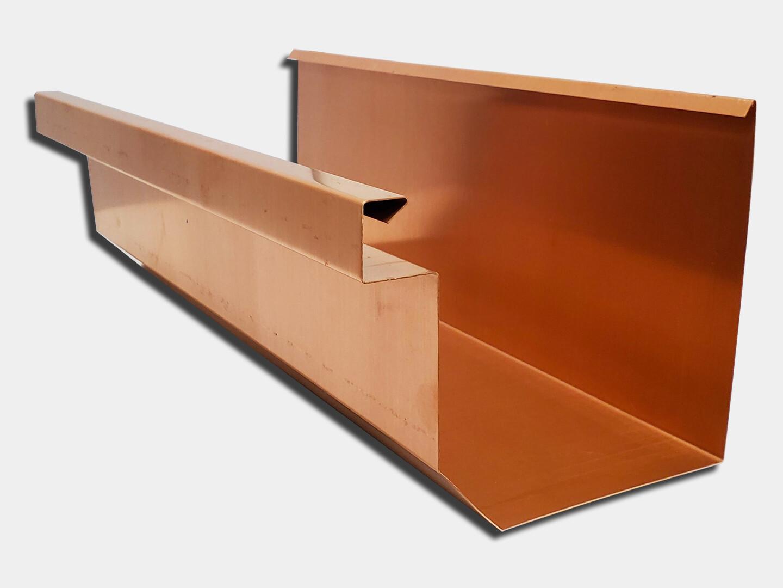 Copper Residential Box Gutter