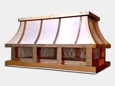 Concave Roof Chimney Cap / Chimney Shroud