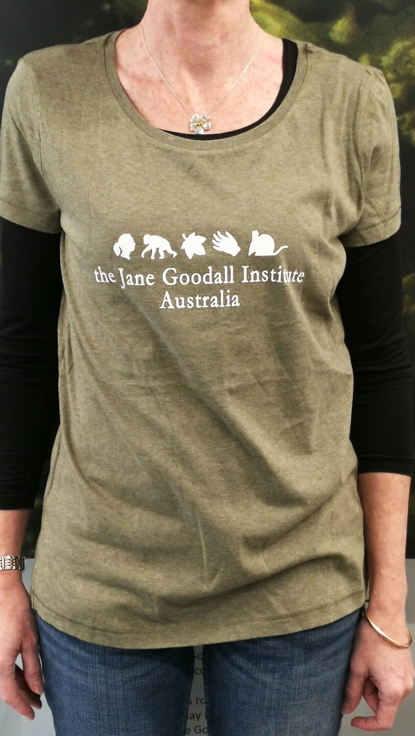 Women's Jane Goodall Institute T-Shirt - Size Large