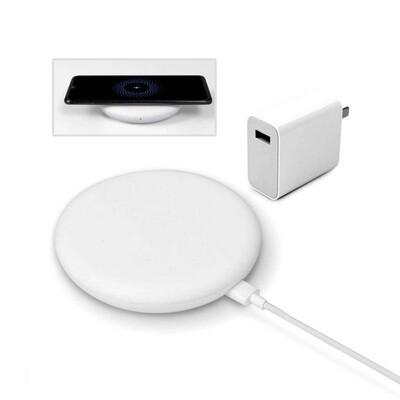 Беспроводное зарядное устройство Xiaomi Wireless Charger 20W (с проводом, с блоком зарядки)
