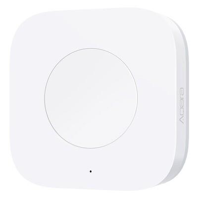 Умный выключатель Xiaomi Аqara Smart Wireless Switch (с гироскопом, белый) WXKG12LM