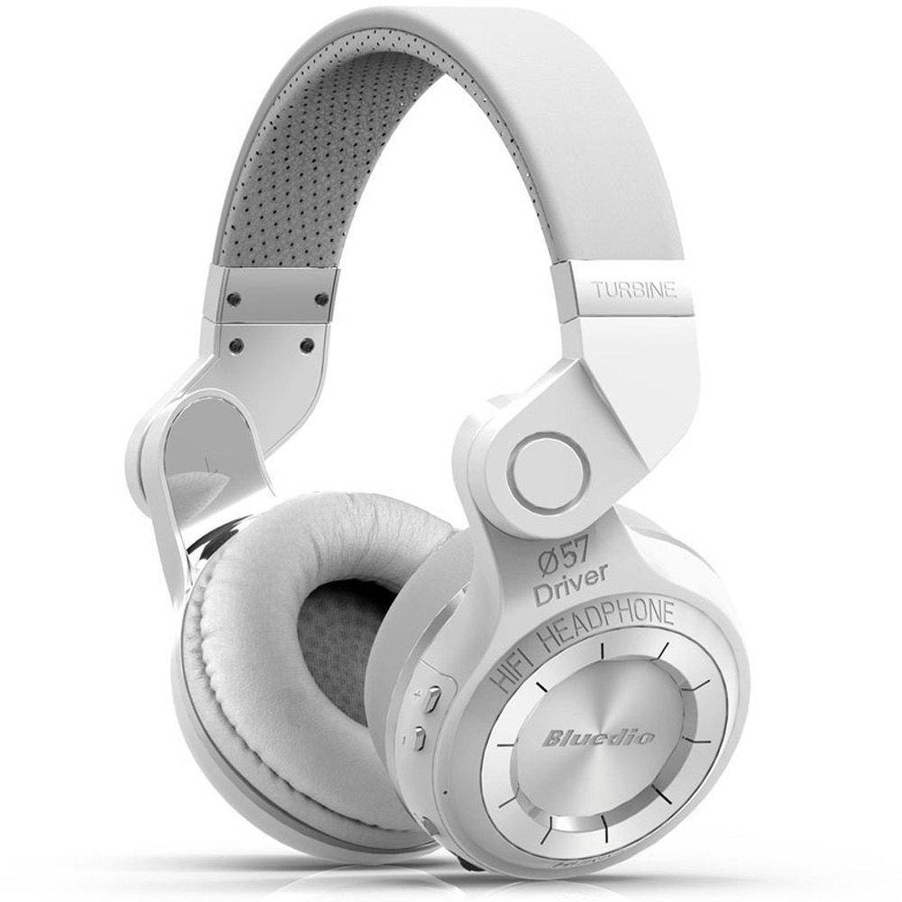 Беспроводные наушники Bluedio T2+ (Белый)