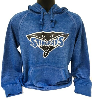 Stingrays Blue Zen Hoodie