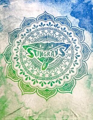Stingrays Plush Blanket 50