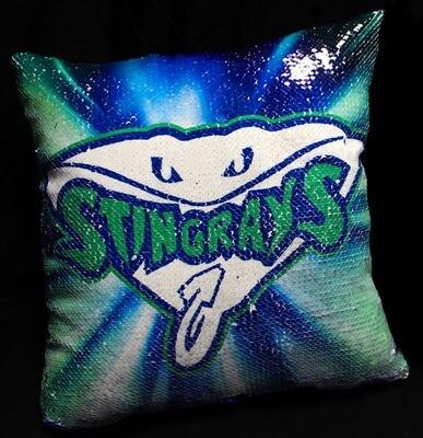 Stingrays Mermaid Pillow
