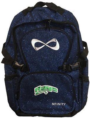 Rays Blue Glitter Nfinity Backpack
