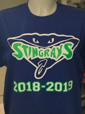 Stingrays Try Out T-shirt