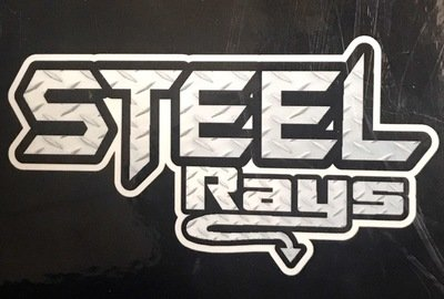 Steel Rays Decal