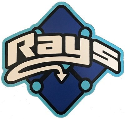 Cobalt Rays Decal