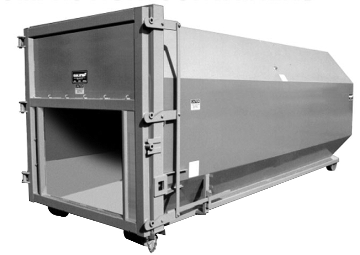 Roll-Off Octagon Self-Contained Compaction Container