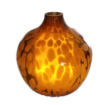 Ultrasonic Marble Diffuser Amber Leopard