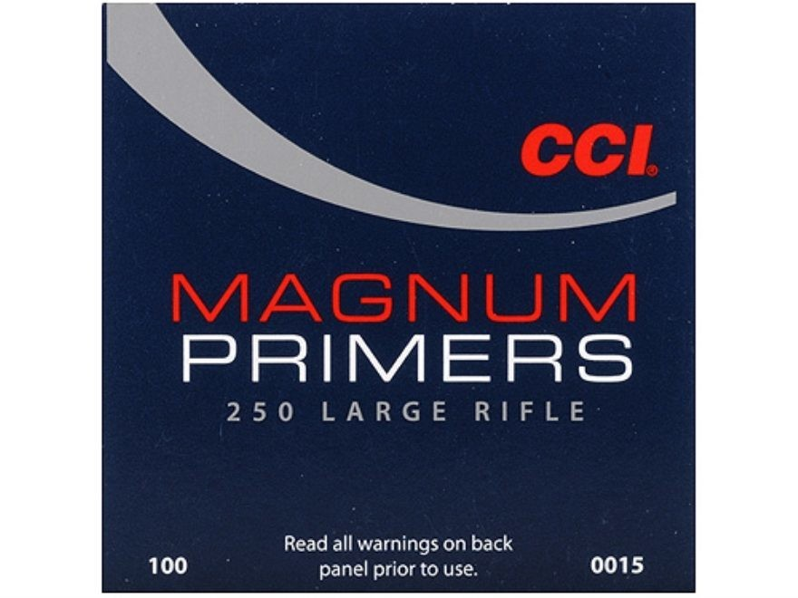 CCI LARGE RIFLE MAGNUM PRIMERS #250 - BOX/ 1000