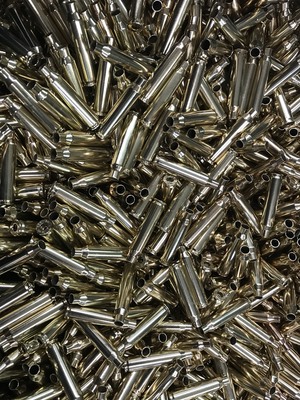 ONCE FIRED (PROCESSED / LOAD READY) 308 WIN / 7.62 X 51 BRASS- 100