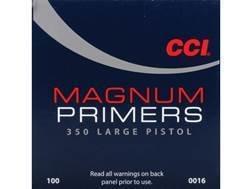 CCI LARGE PISTOL MAGNUM PRIMERS #350 - BOX/1000