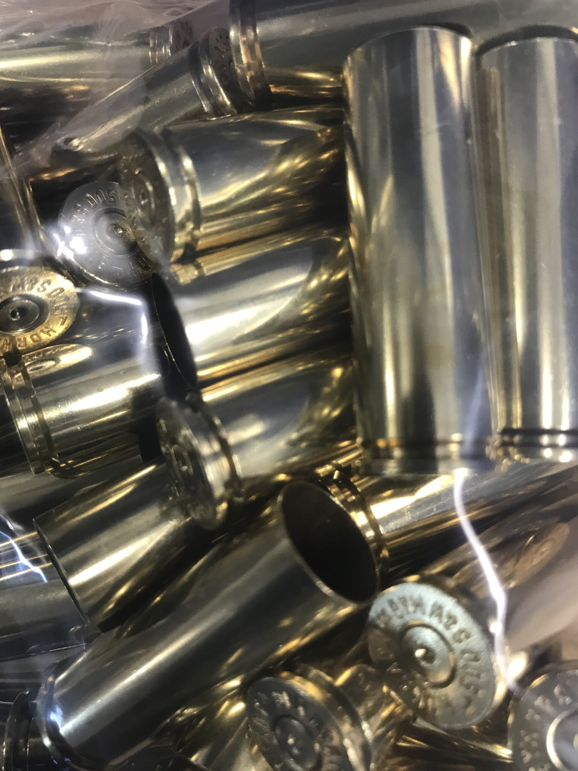 500 S&W Once Fired Brass - 50pcs