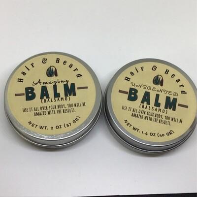 HAIR & BEARD BALM