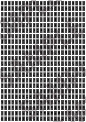Black Text Dark Gray 2 - 'Feeling Good' Tiny Numbers