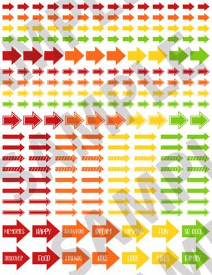 Apples & Oranges - Assorted Arrows