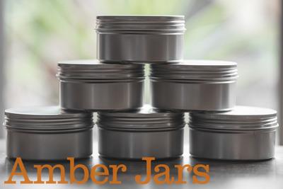 200ml Aluminium Jar with Wadded Lid  Candle Jar, Beard Balm Jar, Body Butter