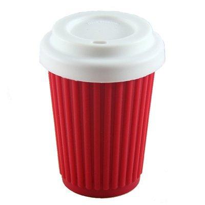 BYO Coffee Cup Regular Red (345ml)
