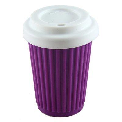 BYO Coffee Cup Regular Purple (345ml)