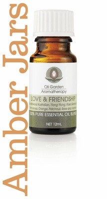 LOVE & FRIENDSHIP Essential Oil 12ml - Oil Garden AROMATHERAPY
