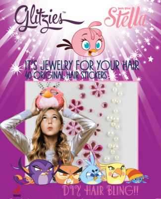 Official Gltizies STELLA Hair Stickers