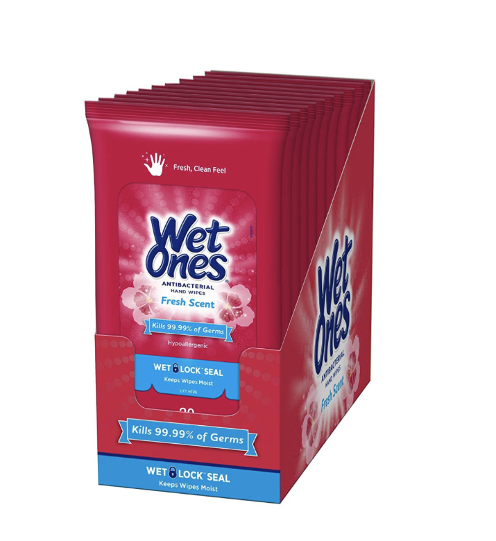 Wet Ones Antibacterial Wipes