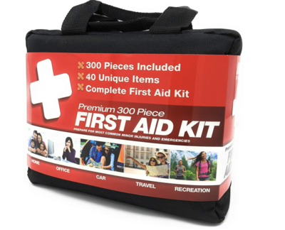 First Aid Kit 300 Piece