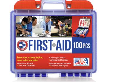 First Aid Kit 100PCS
