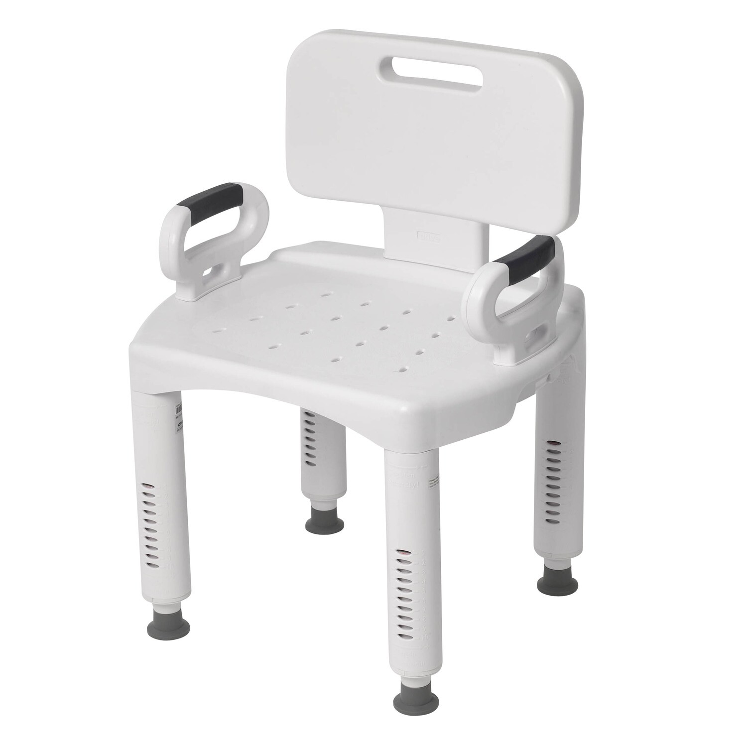 Shower Chair with Back and Arms (DRIVE)