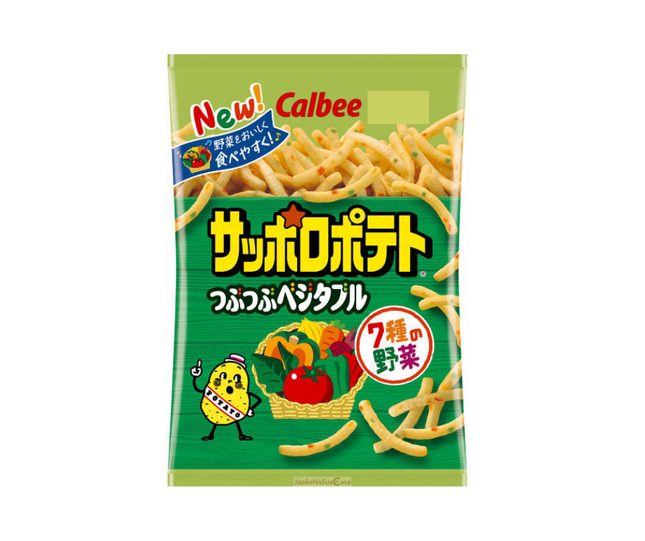 Calbee Sapporo Potato Vegetable