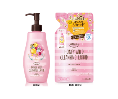 Softymo Honey Mild Cleansing Liquid