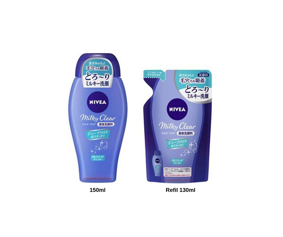 Nivea Milky Clear Facial Cleanser Deep Clear