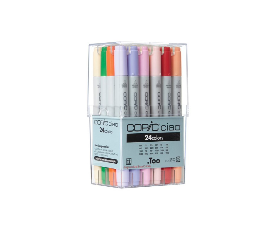 Copic Ciao 24 Color Set